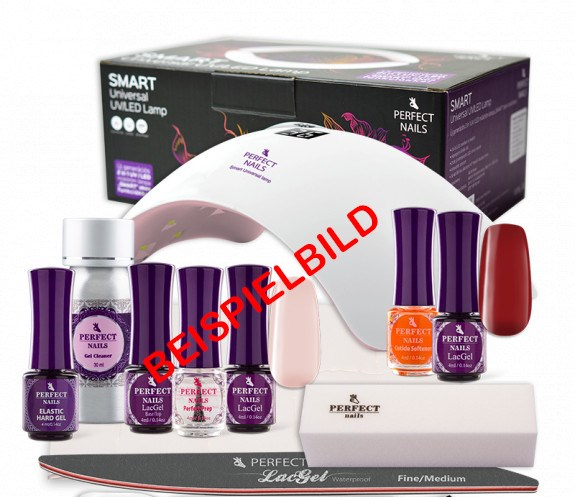 Perfect Nails Austria Produkt-Beispiele LacGEL Home Set Professionell